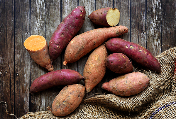 To Live Long and Healthy try Low-FODMAP diet which include sweet potatoes